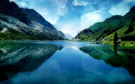 Mountains landscapes nature photography reflections wallpaper