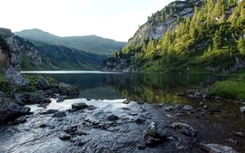 Mountains landscapes nature rivers stock photo waterscapes wallpaper