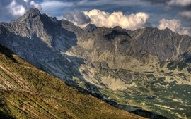 Mountains landscapes nature valley wallpaper