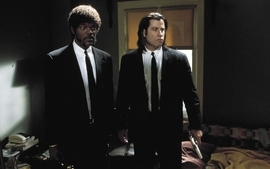 Movies suit pulp fiction screenshots samuel l jackson john wallpaper