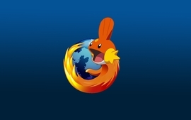 Mudkip firefox wallpaper