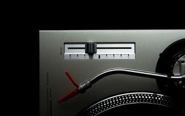 Music artistic studio vinyl techno turntables technics dj wallpaper