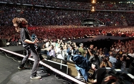 Music live foo fighters dave grohl wallpaper