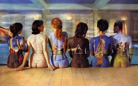 Music pink floyd indoors bodypainting music bands album covers wallpaper