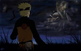 Naruto deviantart yondaime naruto uzumaki minato namikaze wallpaper