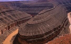 Nature desert canyon wallpaper