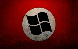 Nazi microsoft windows logos wallpaper