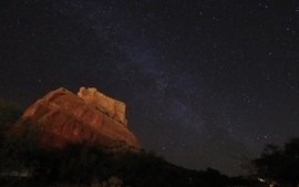 Night stars astronomy arizona skyscapes wallpaper