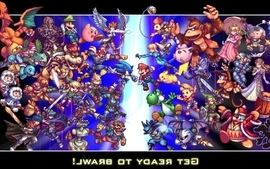 Nintendo super smash bros all star wallpaper