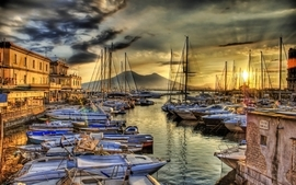 Ocean sail dock photography ships boats vehicles hdr photography wallpaper