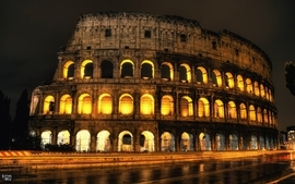 Old architecture italy monument colosseum roma coliseum wallpaper