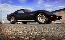 Old cars chevrolet stingray corvette wallpaper