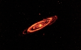 Outer space galaxies 3 wallpaper