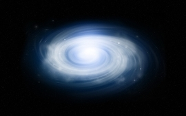 Outer space galaxies 9 wallpaper