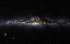 Outer space galaxies milky way wallpaper