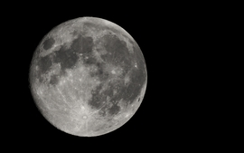 Outer space moon black background wallpaper