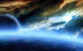 Outer space planets deviantart 2 wallpaper