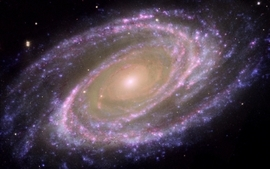 Outer space stars galaxies 2 wallpaper