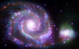 Outer space stars galaxies 5 wallpaper