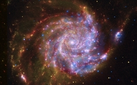 Outer space stars galaxies 6 wallpaper