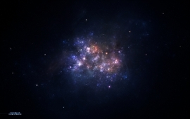 Outer space stars galaxies 9 wallpaper
