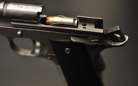 Pistols guns weapons ammunition artwork m1911 kimber wallpaper
