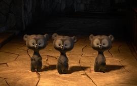 Pixar babies animation knives brave bears baby animals wallpaper