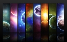 Planets 2 wallpaper