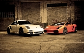 Porsche cars vehicles lamborghini gallardo wallpaper