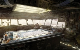 Postapocalyptic tables apocalypse artwork motorstorm jack wallpaper