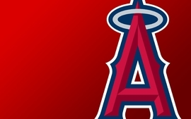 Red baseball california mlb anaheim logos la angels of anaheim 2 wallpaper