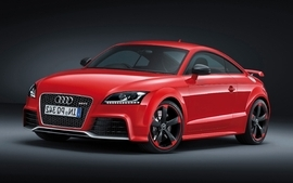Red cars vehicles audi tt audi tt rs sport cars wallpaper
