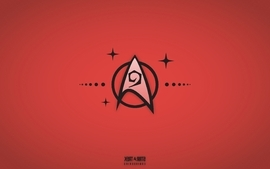 Red star trek engineering wallpaper