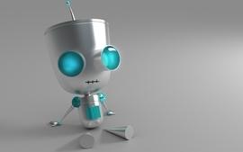 Robots invader zim gir 3d wallpaper