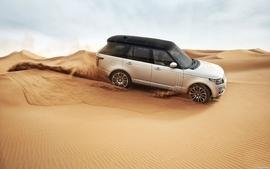 Sand cars desert range rover wallpaper