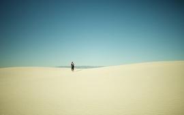 Sand desert skyscapes wallpaper