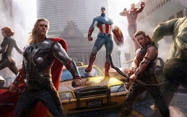 Scarlett johansson iron man thor captain america superheroes wallpaper