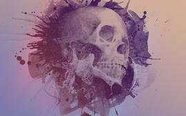 Skulls textures wallpaper