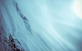 Snow ubuntu wallpaper