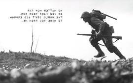 Soldiers fate death grayscale world war ii wallpaper