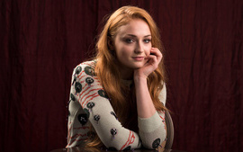 Sophie Turner 4K wallpaper