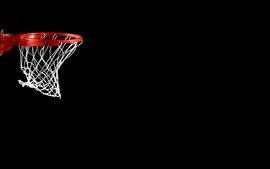 Sports basketball black background 2 wallpaper