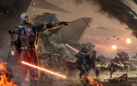 Star wars lightsabers sith artwork star wars the old republic wallpaper