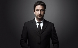 Suit tie men gerard butler actors fashion photography wallpaper