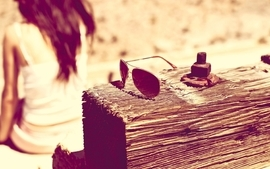 Sunglasses women wallpaper