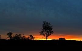 Sunset landscapes nature 2 wallpaper