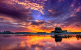 Sunset landscapes nature photography hdr photography wallpaper