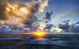 Sunset landscapes nature wallpaper