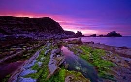 Sunset ocean sea photography wallpaper