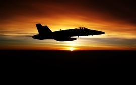 Sunsets aircrafts military aviation wallpaper